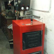 IBC GK2 Gussgliederheizkessel für Kohle und Holz